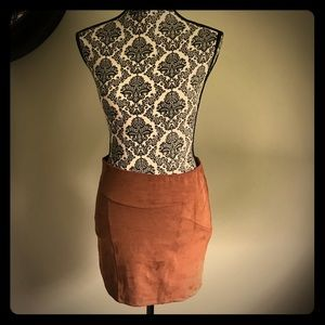 Express Skirt, faux suede, size s/p